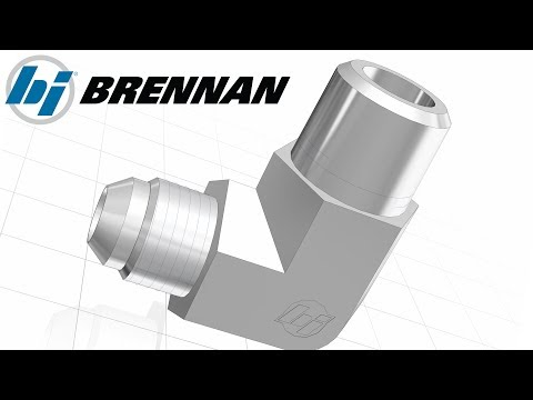 How to Search, Configure and Download Hydraulic and Pneumatic Fittings from Brennan Inc.