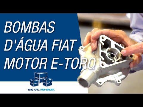 Como identificar a bomba d´água certa para cada veículo Fiat com motor E-Torq