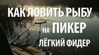 Ловля рыбы на снасть фидер что это