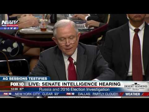 FULL OPENING STATEMENT: Attorney General Jeff Sessions Senate Intelligence Hearing (FNN)