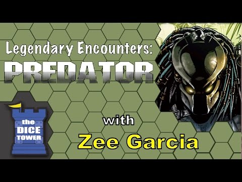 The Dice Tower reviews Legendary Encounters: Predator