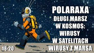 Polaraxa 18-20: Długi marsz w kosmos – wirusy w satelitach, wirusy z Marsa