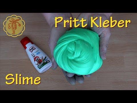 Slime: Slime aus Pritt Bastelkleber