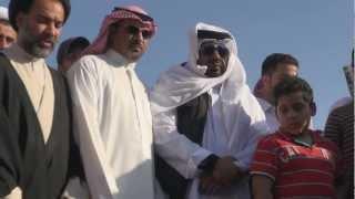 preview picture of video 'النائب التميمي مشاركا بتشييع الشهيد حسين الجزيري 16/2/2013'