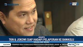 Jokowi Siap Hadapi Pelaporan ke Bawaslu