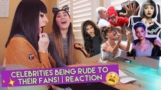 CELEBRITIES BEING RUDE TO FANS REACTION  Kylie Jenner Melanie Martinez Halsey Justin Bieber