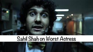 The Ghanta Awards 2014 Sahil Shah On Worst Actress