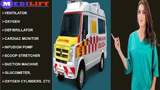 Use Medilift ICU Ambulance Services in Booti More and Delatoli (Ranchi)
