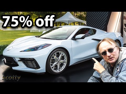 How to Buy a Mid Engine Corvette for 75% Off Retail Price