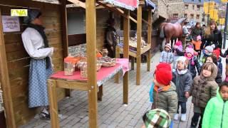 preview picture of video 'El Pessebre de Canillo s'amplia fins a l'església de Sant Serni i estrena una trentena de figures'