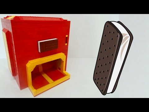 LEGO Ice Cream Sandwich Machine