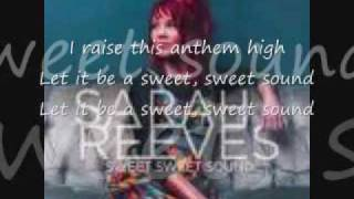 Sarah reeves sweet sweet sound lyrics