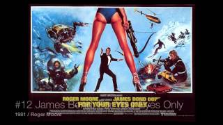 List Of All 23 James Bond Movies (EON Productions)