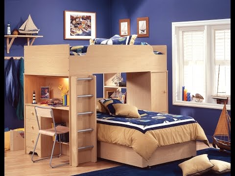 Bunk Bed With Desk And Chair