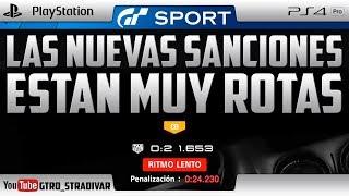 GT SPORT | 😡 LAS NUEVAS SANCIONES ESTAN MUY ROTAS 😡 | GTro_stradivar Carrera Online