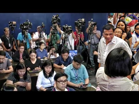 DUTERTE LATEST NEWS JUNE 21, 2018 | PRESS BRIEFING AT THE MALACAÑANG PRESS CORPS (MPC)