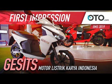 Gesits | First Impression | Motor Listrik Karya Indonesia | OTO.com