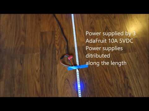 Driving 1000 NeoPixels With 1k Of Arduino RAM | Hackaday