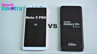 Samsung Galaxy S9 Plus vs Redmi Note 5 Pro SpeedTest and Camera Compare