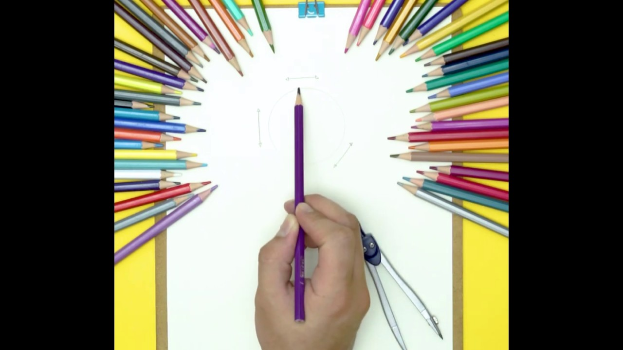 Como colorir com Lápis de Cor sem marcar