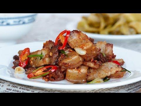 Fish Sauce Glazed Pork Belly – Thịt Rang Cháy Cạnh