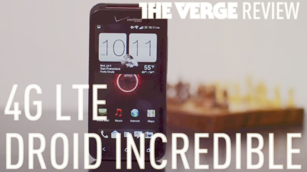 Droid Incredible 4G LTE review thumbnail