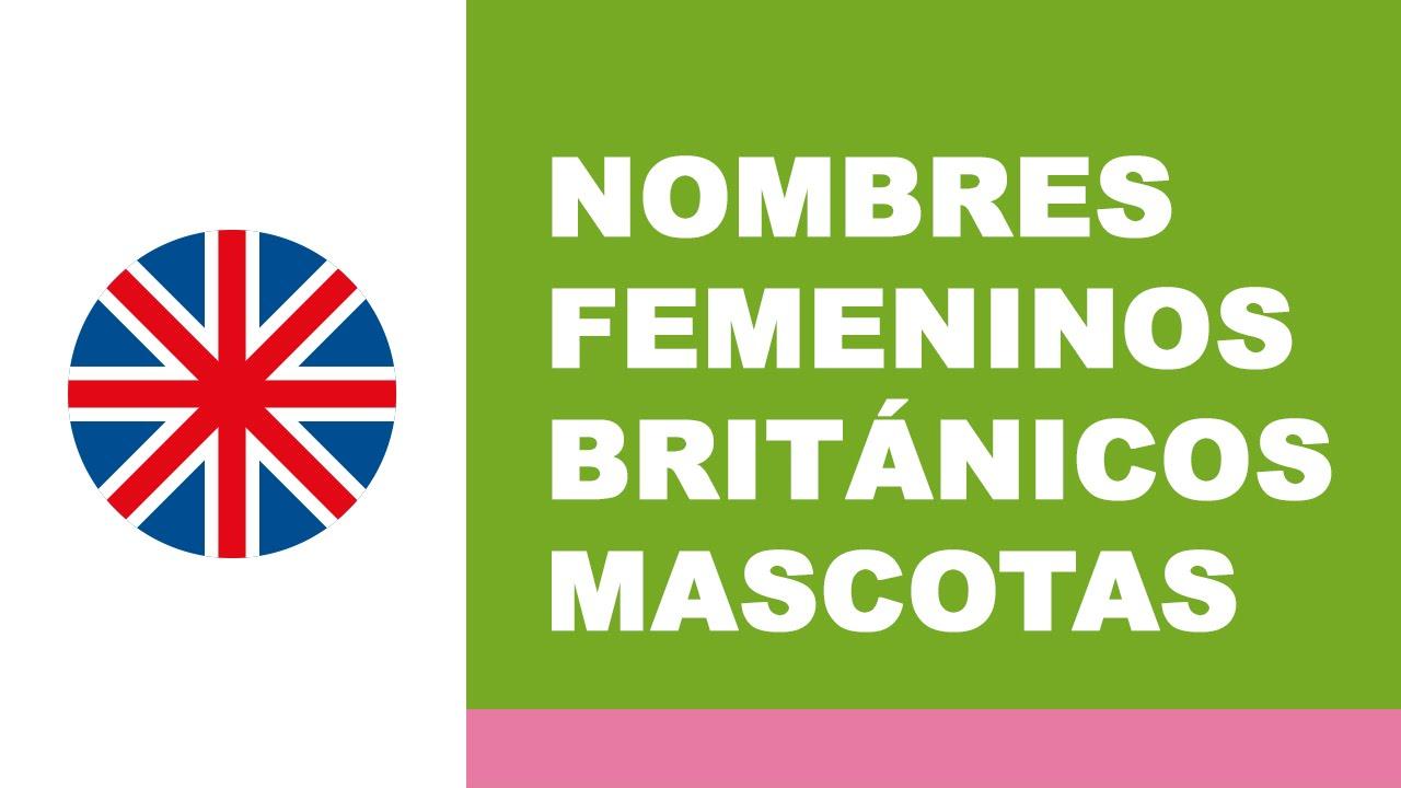 Nombres femeninos británicos - los mejores nombres para mascotas - www.nombresparamimascota.com