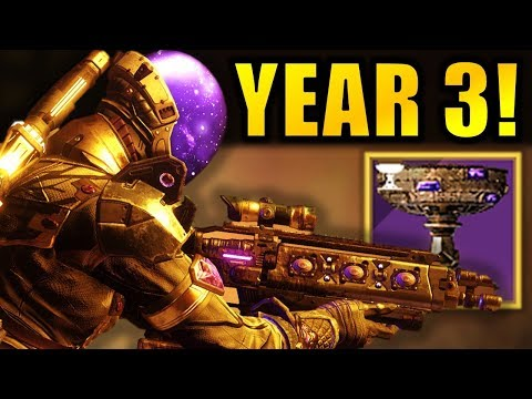 Destiny 2 News: YEAR 3 REVEAL DATE! - Custom Loot Drops! - Buffs! - Raid Rewards!