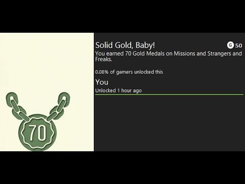 Grand Theft Auto V - All My Medals: Solid Gold, Baby!