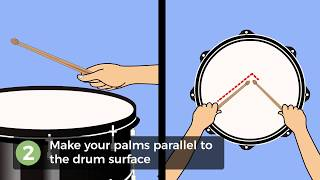 How to Hold a Drumstick Using the German Grip