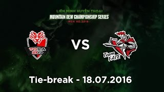 [18.07.2016] 269 vs MNF [MDCS 2016 Mùa Hè] [Tie-Break]