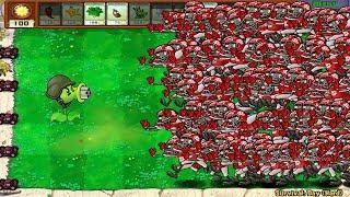 99999 Football Zombie vs Gatling Pea Hack Epic PvZ