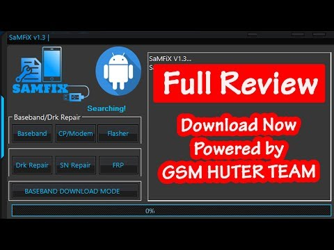 SAMFIX V1.3.0 Gsm Hunter Team Tools Review Free Download Now