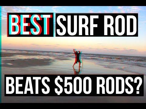 NEW BEST Surf Fishing Rod? SURPRISING PRICE | Surf Fishing Jetty Fishing  Surf Fishing Rigs