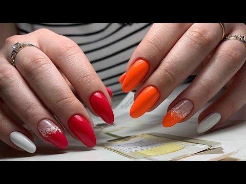Модный маникюр на Август 2020: яркие и модные идеи маникюра   Summer manicure