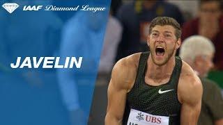 Andreas Hofmann 91.44m - Diamond League Zürich 2018