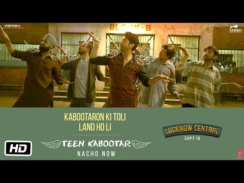 Teen Kabootar | Lucknow Central (2017) Movie Song