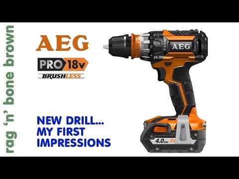 AEG BSB 18 CBL Brushless Hammerdrill Driver – First Impressions