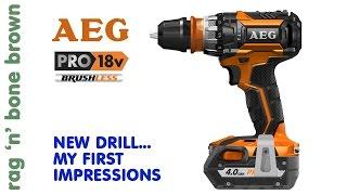AEG BSB 18 CBL Brushless Hammerdrill Driver - First Impressions