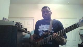 Hi Five I like the Way (the kissing game) bass cover