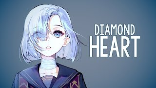 Nightcore -  Diamond Heart (Alan Walker) // lyrics