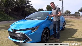 Review: 2019 Toyota Corolla Hatchback (Manual + Auto) - Making Corolla Fun Again!