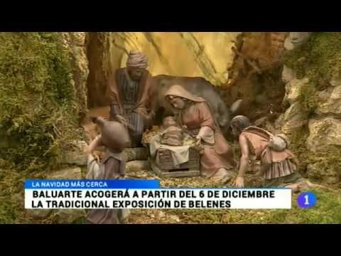 Aviso inauguración expo de Baluarte. Telenavarra, 27/11/2014