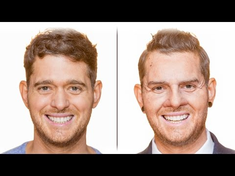 Bublé at the BBC: Michael transforms into sales assistant Dion (видео)