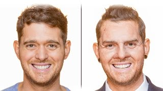 Bublé at the BBC: Michael transforms into sales assistant Dion