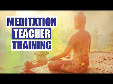 Meditation Teacher Training – Become a Certified Meditation and ...