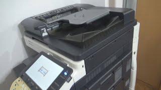 Konica Minolta Bizhub C452 Multifunctional Office Device  Printer Scanner Copier review