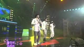 SG Wannabe-Lalala (에스지워너비-라라라) @SBS Inkigayo 인기가요 20080601