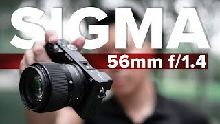 Sigma 56mm f/1.4 - Best Portrait Lens for a6500 | In-Depth Review