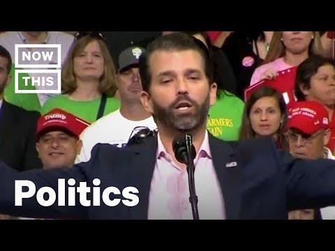 Donald Trump Jr. Slams Joe Biden For Not Curing Cancer | NowThis